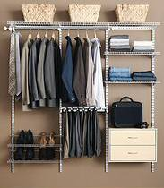 Rubbermaid HomeFree series closet system by Rubbermaid Products, on FlickrW by r3v || cls, on Flickr